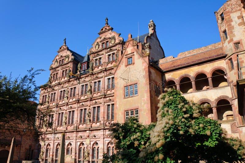 Castello di Heidelberg in Germania immagine stock