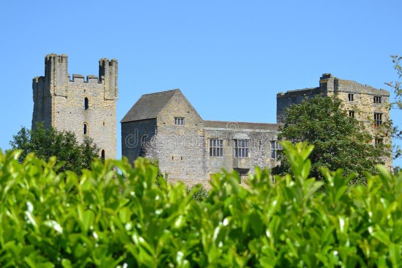 Castello di Helmsley fotografia stock