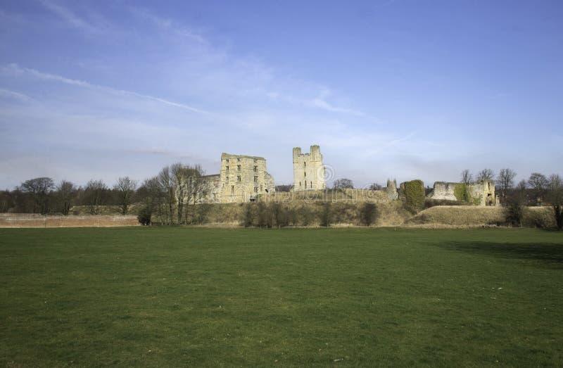 Castello di Helmsley fotografia stock libera da diritti