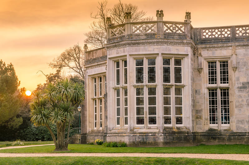 Castello di Highcliffe fotografie stock libere da diritti