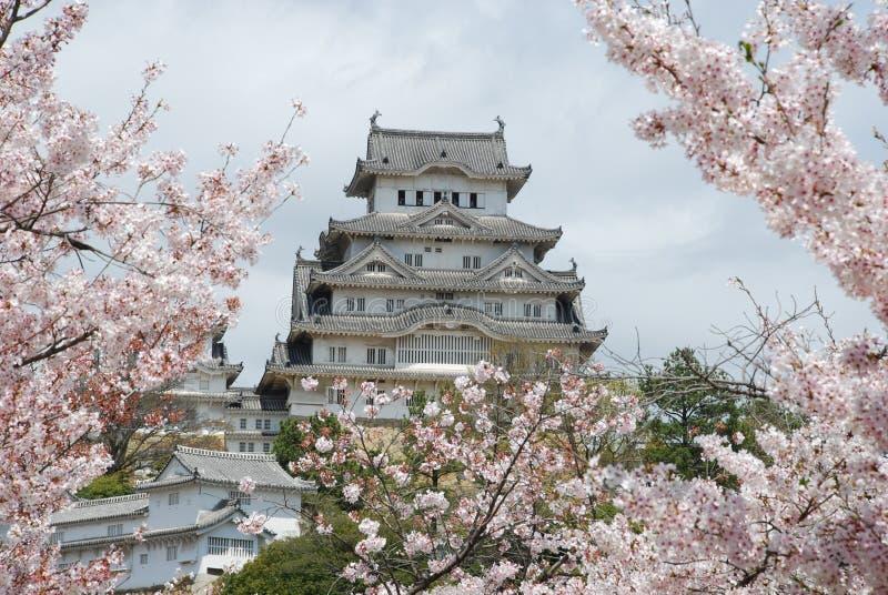 Castello di Himeji fotografie stock