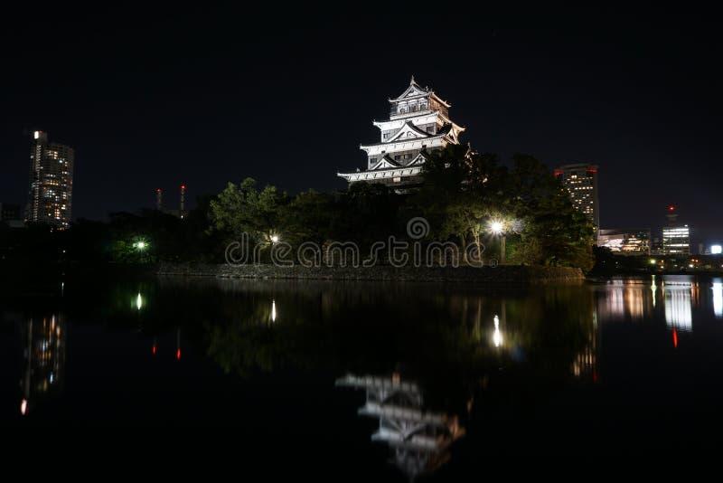 Castello di Hiroshima immagini stock