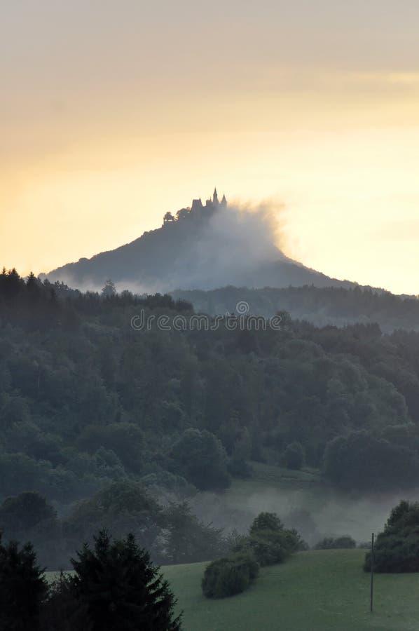 Castello di Hohenzollern fotografia stock libera da diritti