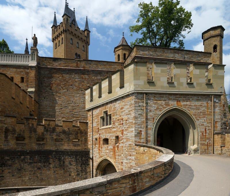 Castello di Hohenzollern fotografia stock