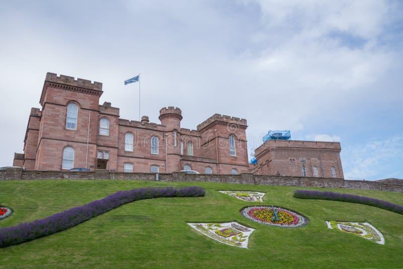 Castello di Inverness, Scozia fotografie stock