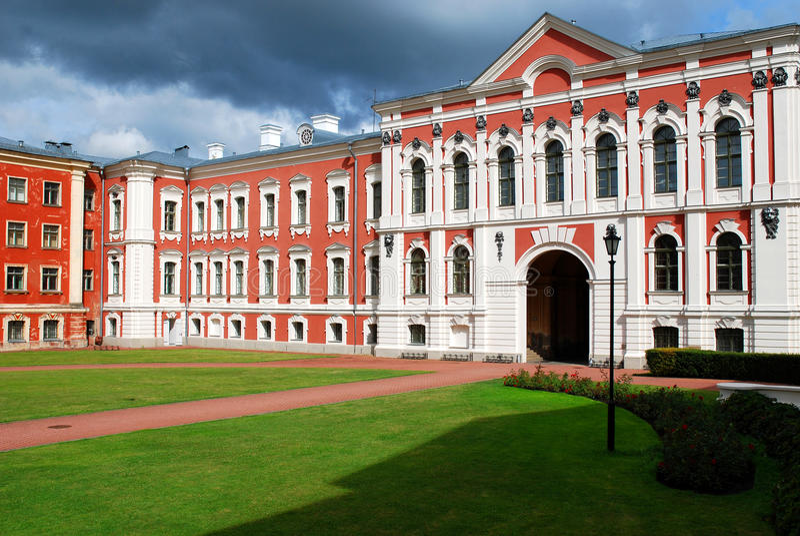 Castello di Jelgava, Lettonia fotografia stock