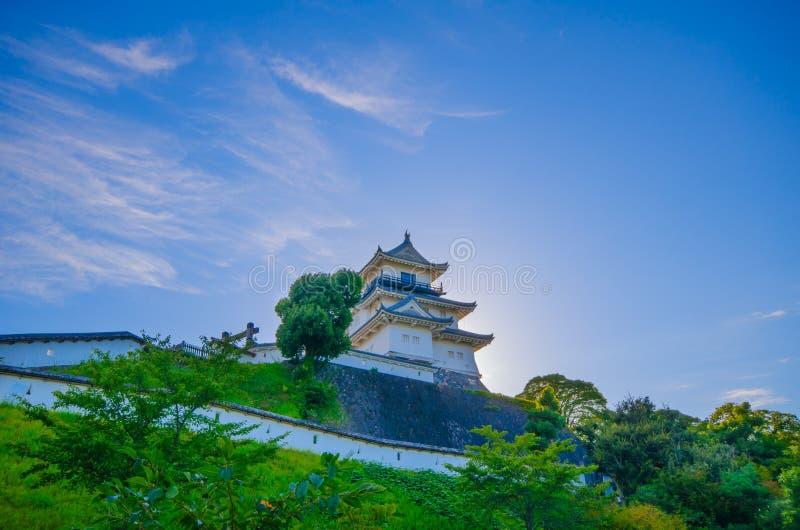 Castello di Kakegawa immagini stock