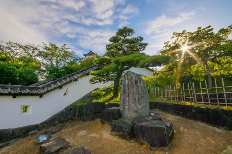 Castello di Kakegawa immagine stock libera da diritti