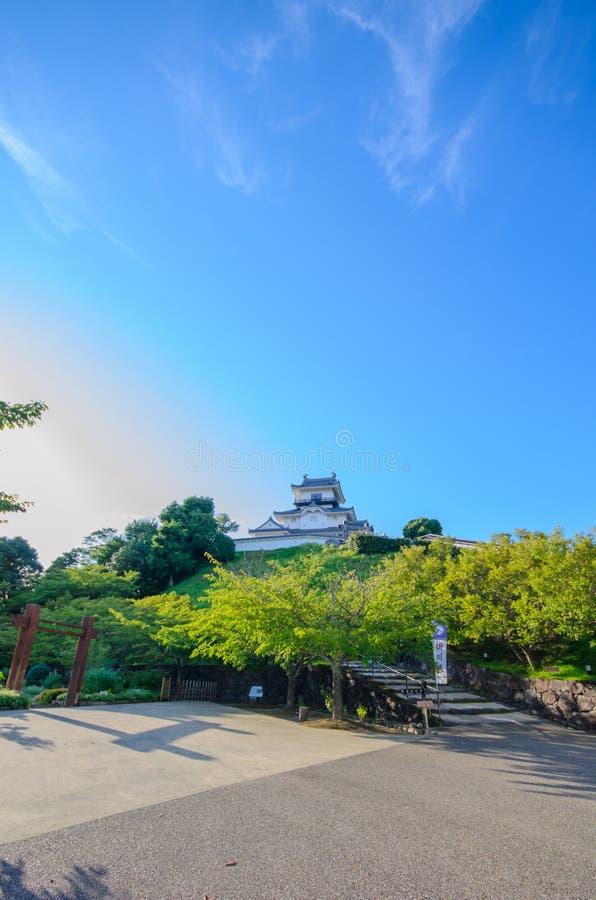 Castello di Kakegawa immagine stock