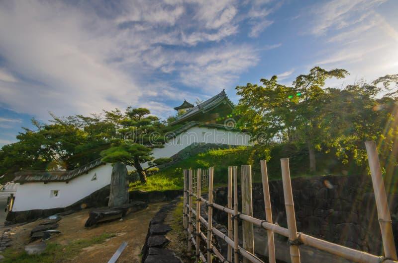 Castello di Kakegawa fotografia stock libera da diritti
