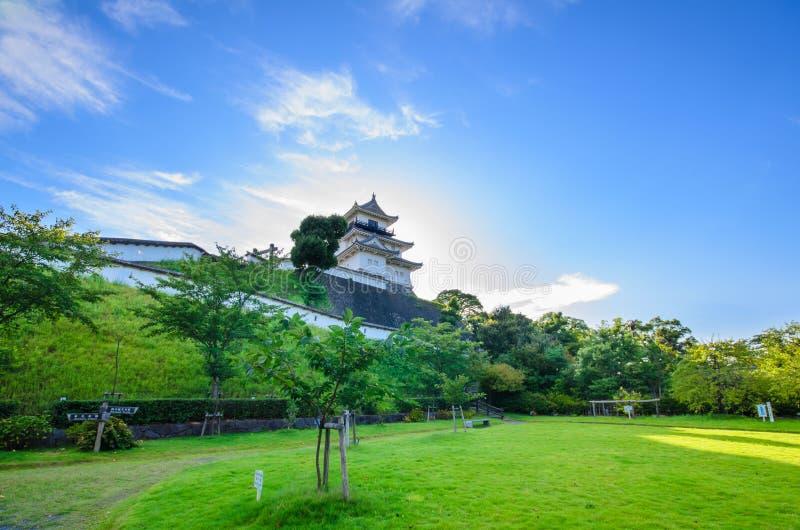 Castello di Kakegawa fotografie stock libere da diritti