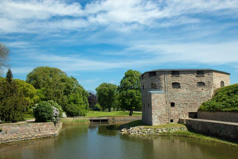 Castello di Kalmar in Svezia Scandinavia Europa immagine stock libera da diritti
