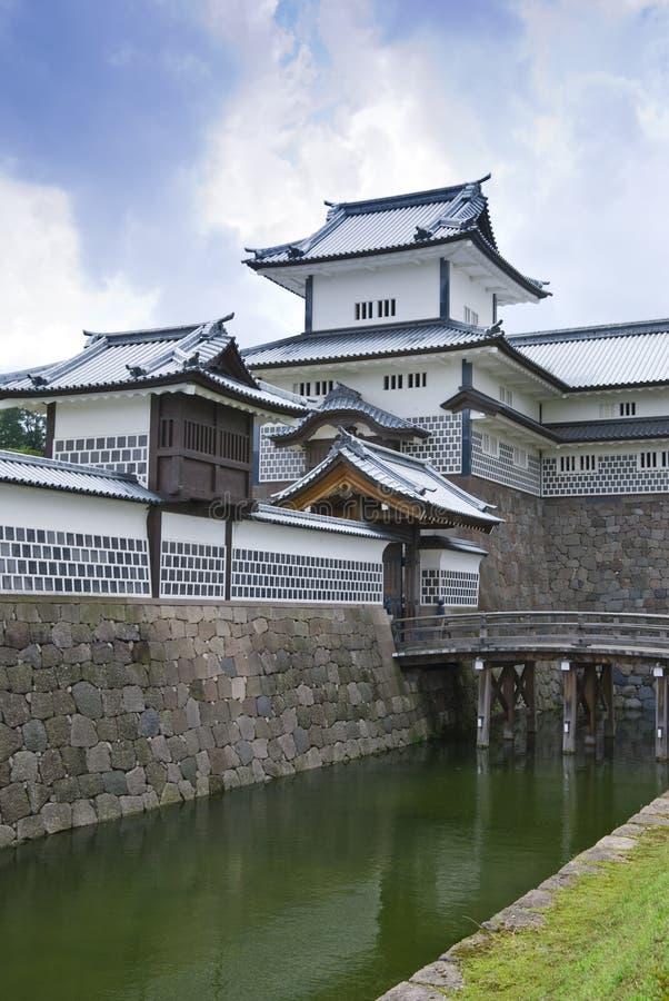 Castello di Kanazawa, Giappone. immagini stock
