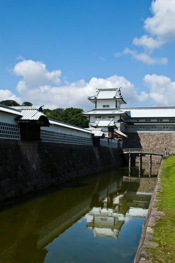 Castello di Kanazawa, Giappone immagine stock libera da diritti