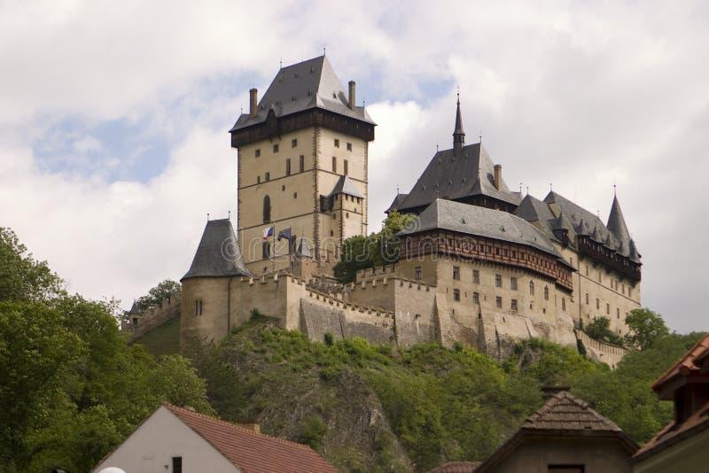 Castello di Karlstein fotografie stock libere da diritti