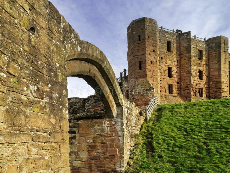 Castello di Kenilworth fotografie stock libere da diritti