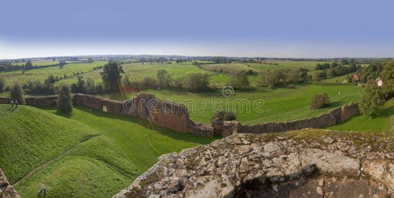 Castello di Kenilworth fotografia stock libera da diritti