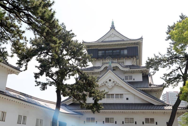 Castello di Kokura immagini stock