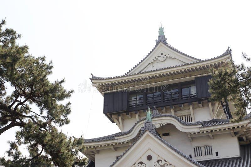 Castello di Kokura fotografia stock