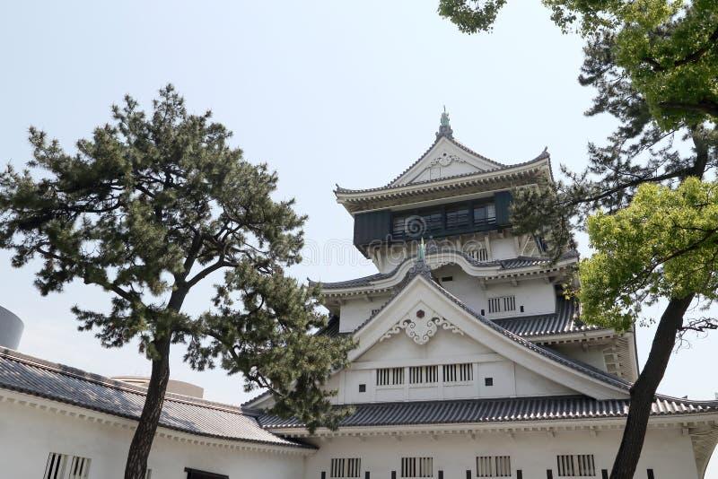Castello di Kokura immagine stock libera da diritti
