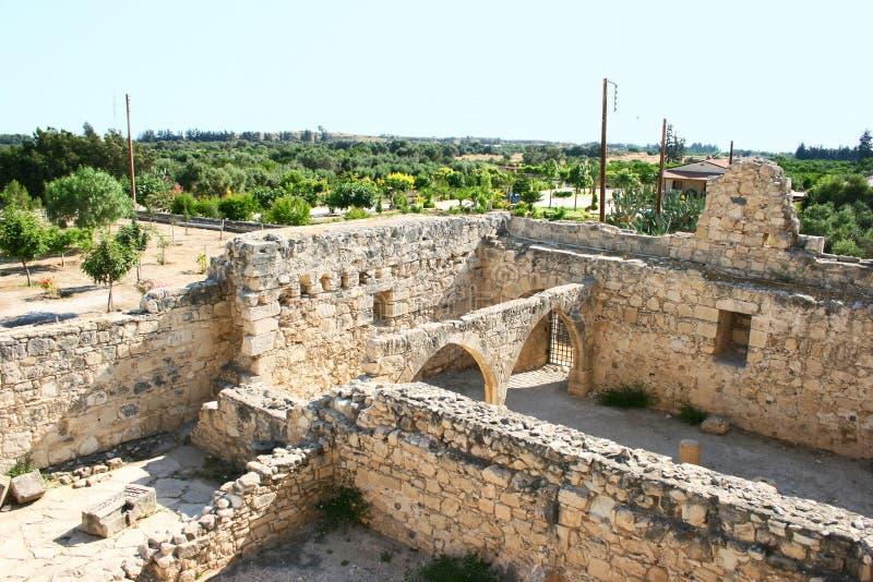 Castello di Kolossi fotografie stock
