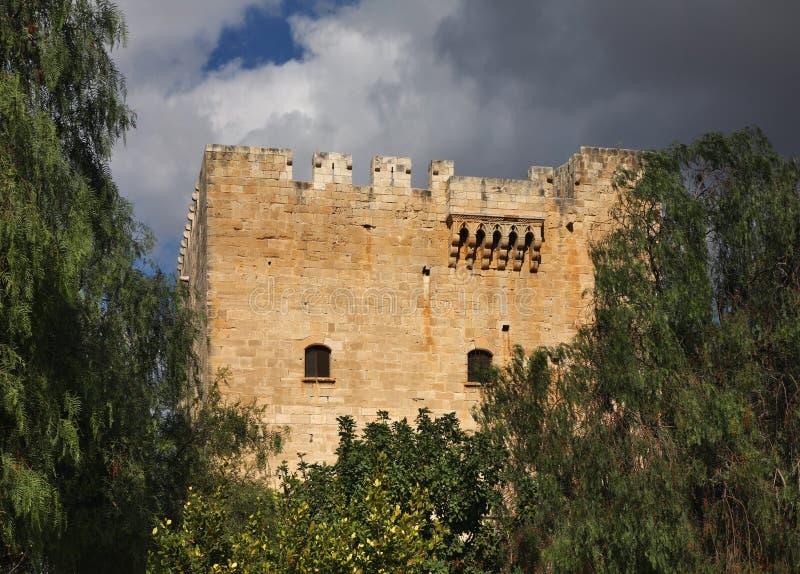 Castello di Kolossi vicino a Limassol cyprus fotografie stock