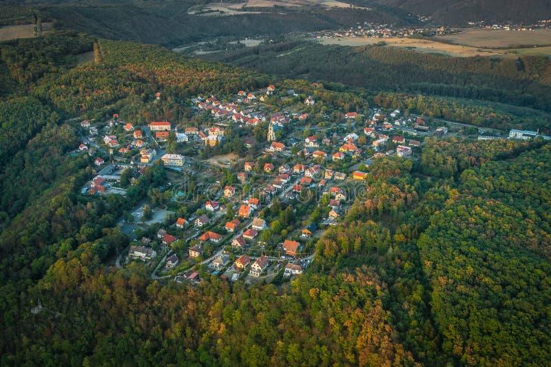 Castello di Krivoklat a partire dal secolo 12 fotografie stock