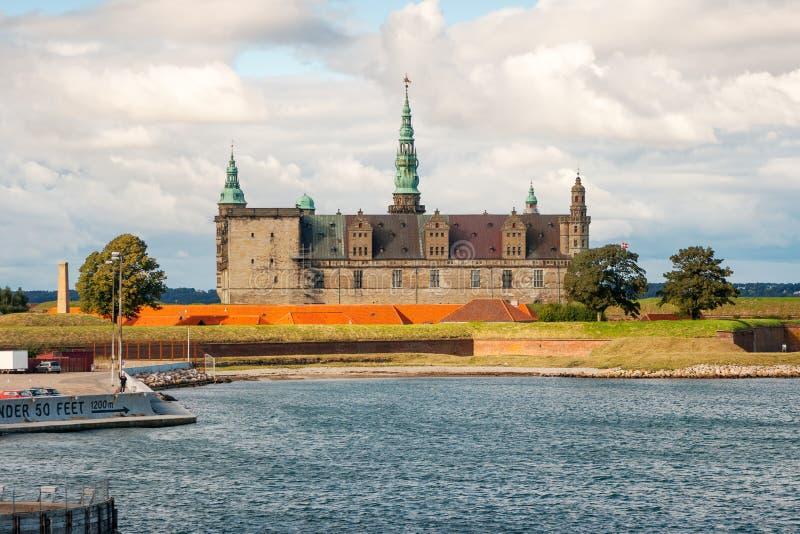 Castello di Kronborg. La Danimarca fotografia stock libera da diritti