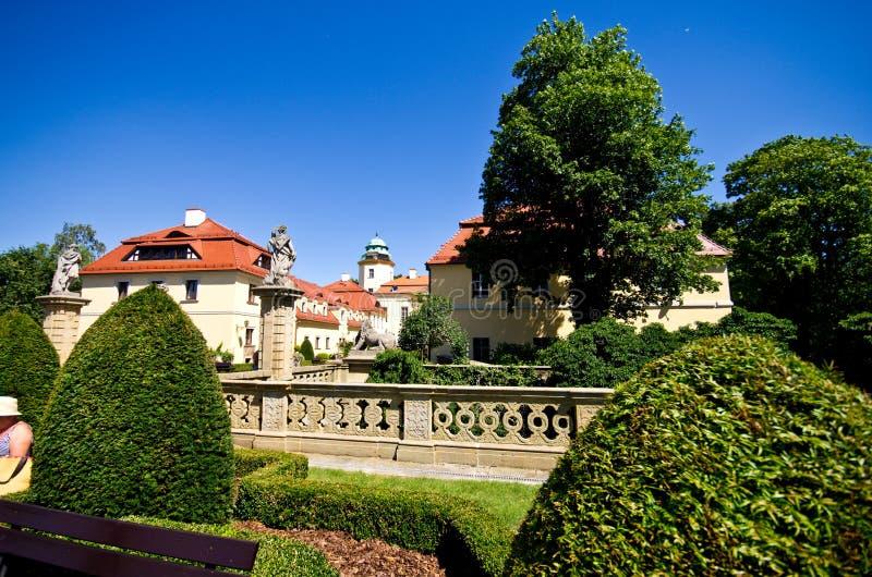 Castello di Ksiaz, Polonia immagini stock libere da diritti