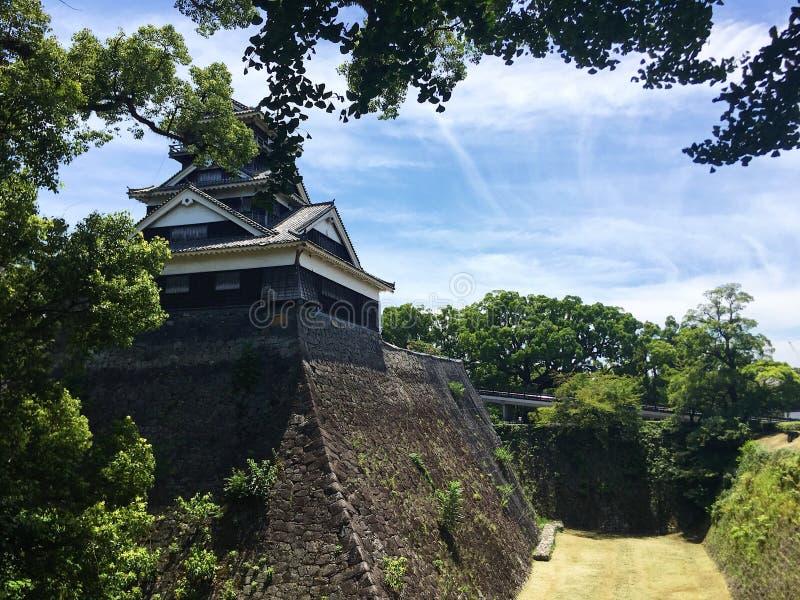 Castello di Kyushu Giappone Kumamoto fotografia stock