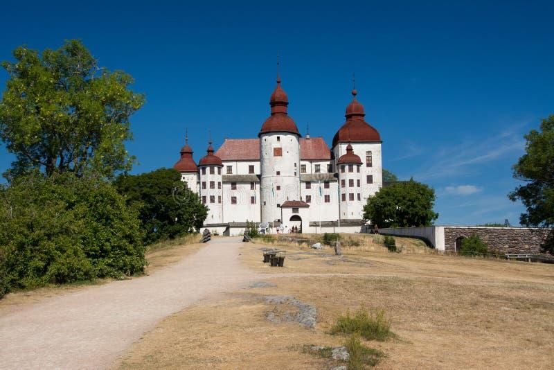 Castello di Läckö immagini stock