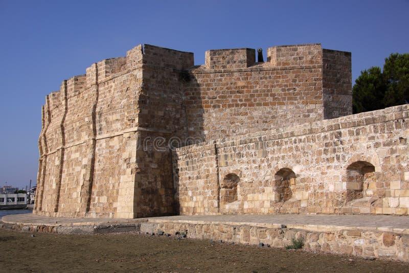 Castello di Larnaca fotografia stock