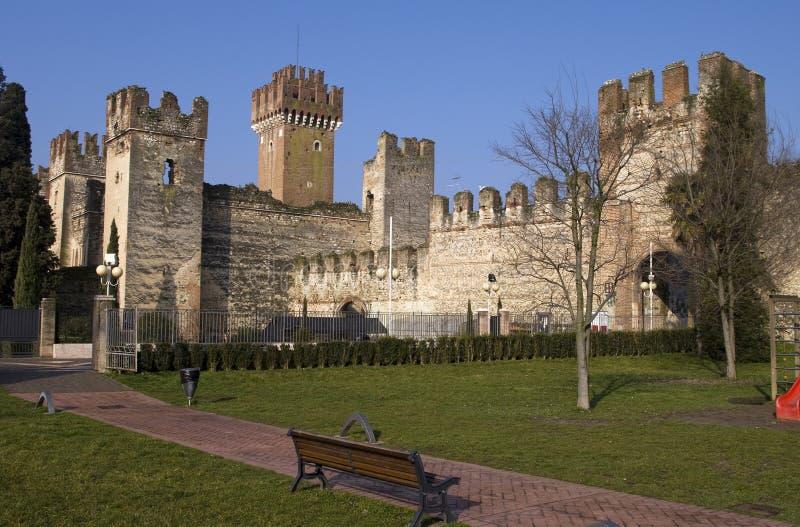 Castello di Lazise fotografia stock libera da diritti