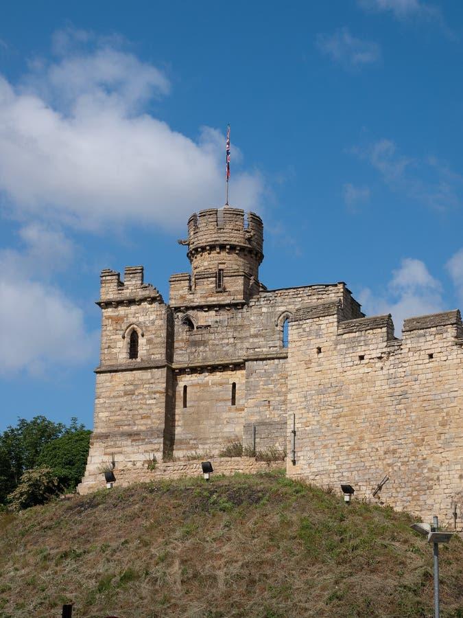 Castello di Lincoln fotografie stock libere da diritti