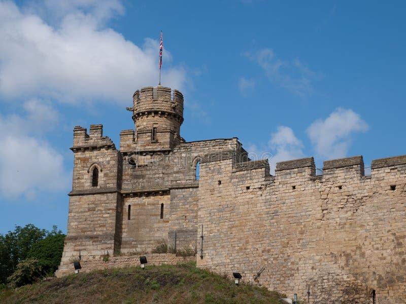 Castello di Lincoln fotografia stock