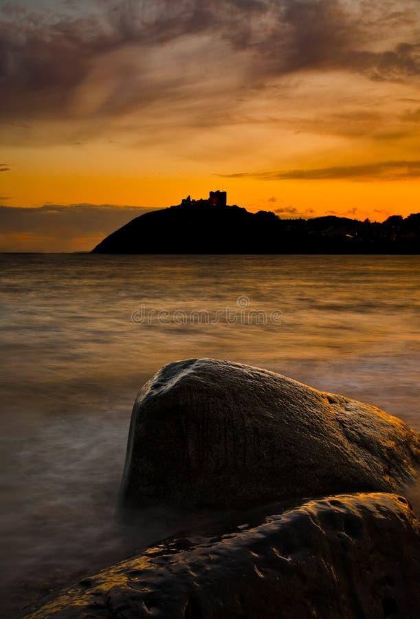 Castello di Lingua gallese immagine stock libera da diritti