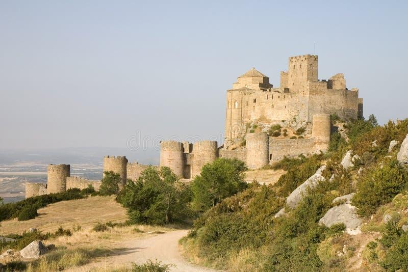 Castello di Loarre, Aragon, Spagna immagine stock libera da diritti
