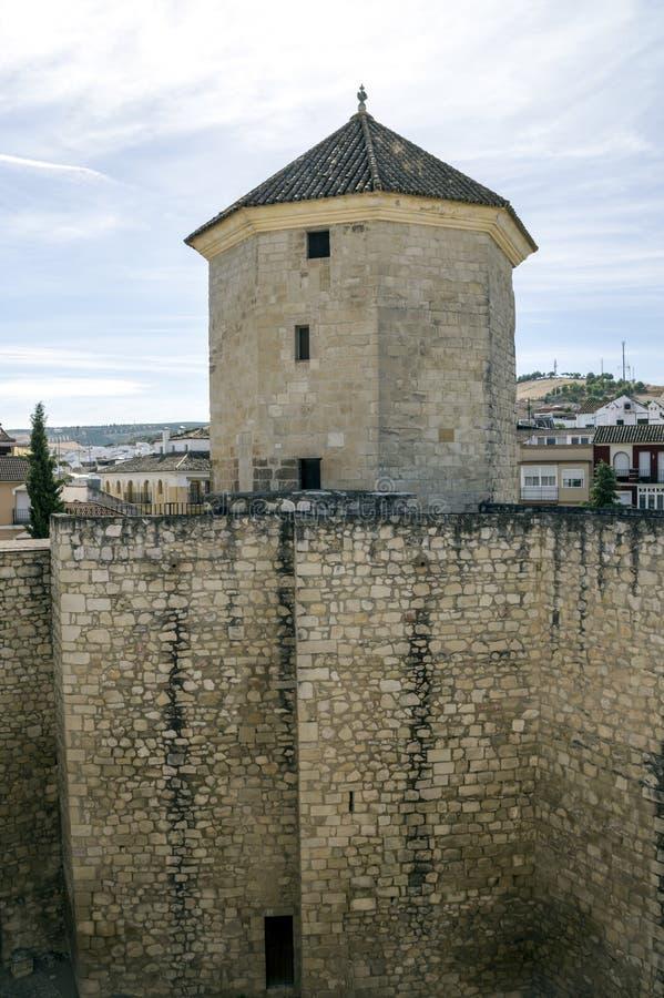 Castello di Lucena immagine stock libera da diritti