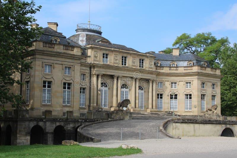 Castello di Ludwigsburg fotografia stock libera da diritti