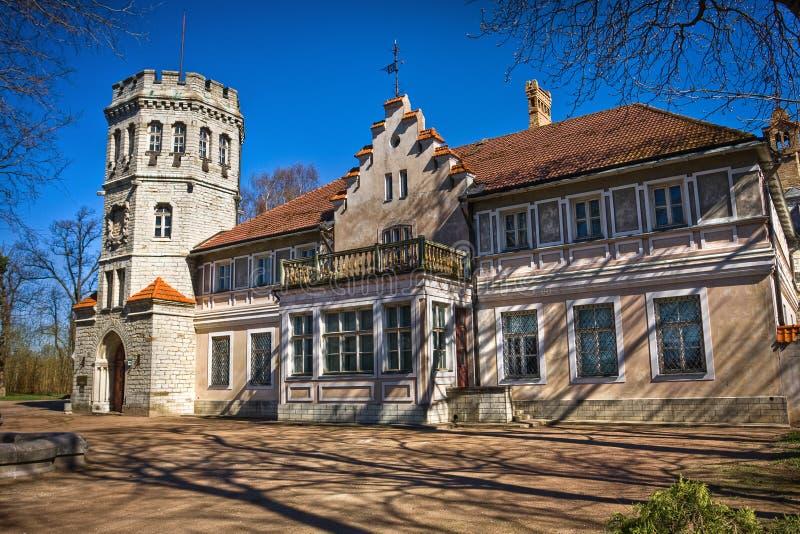 Castello di Maarjamae a Tallinn fotografie stock