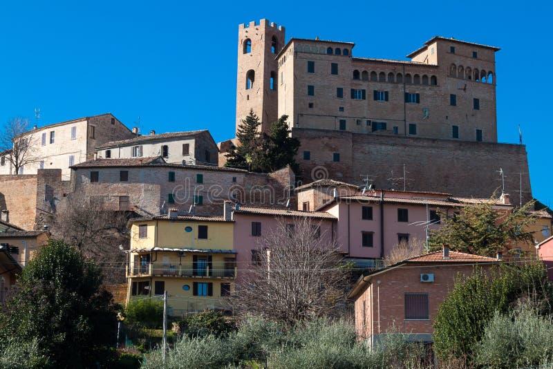 Castello di Malatesta in longiano immagini stock libere da diritti