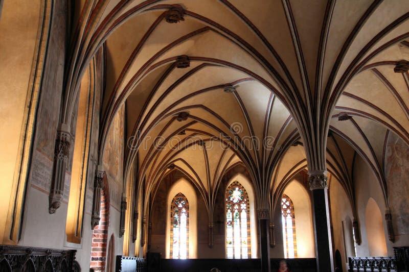 Castello di Malbork fotografie stock