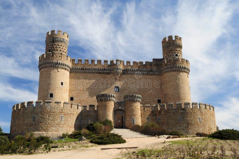 Castello di Manzanarre fotografie stock libere da diritti