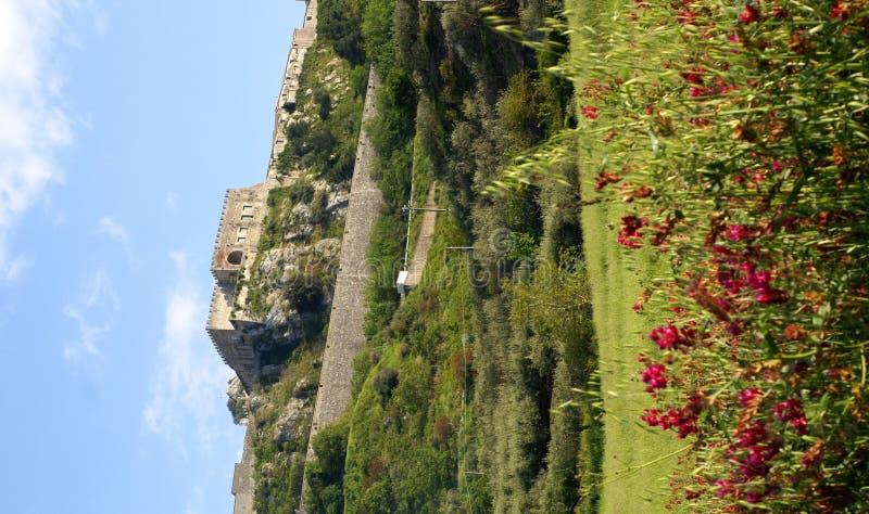 Castello di Marineo fotografie stock libere da diritti