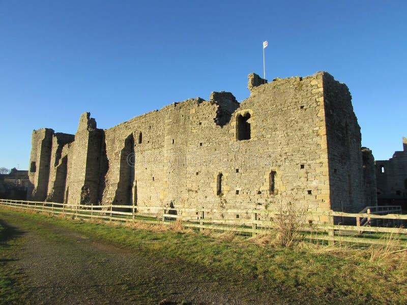 Castello di Middleham immagini stock libere da diritti
