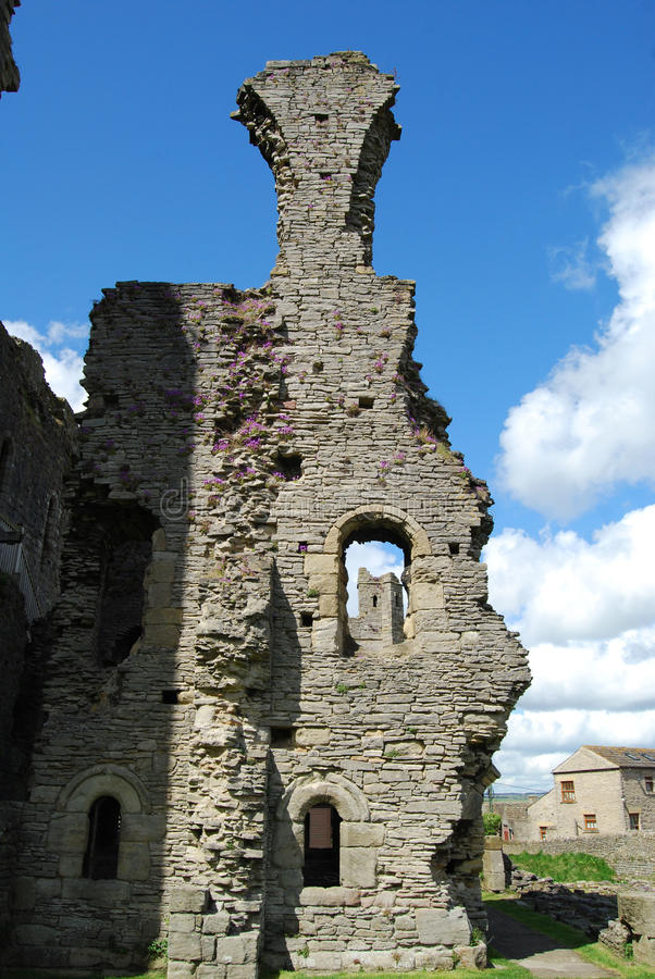Castello di Middleham, North Yorkshire immagine stock