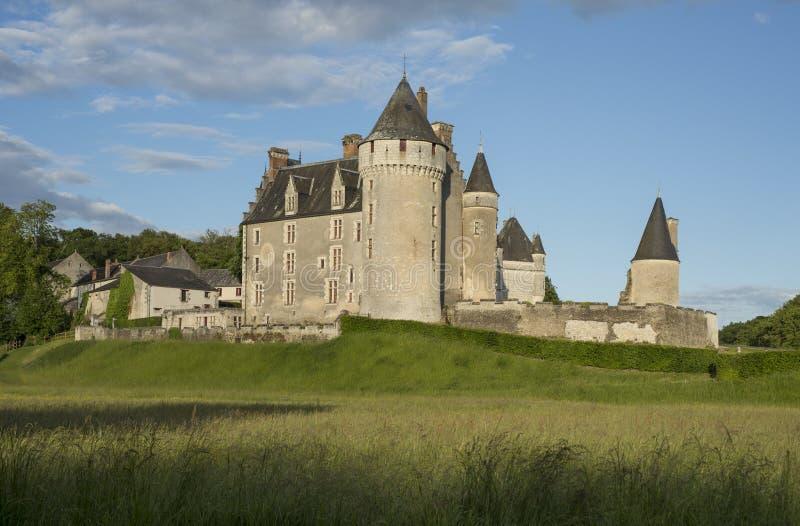 Castello di Montpoupon immagine stock