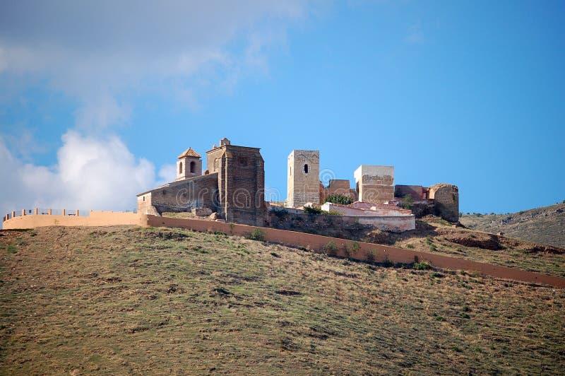 Castello di moresco - Alora fotografia stock