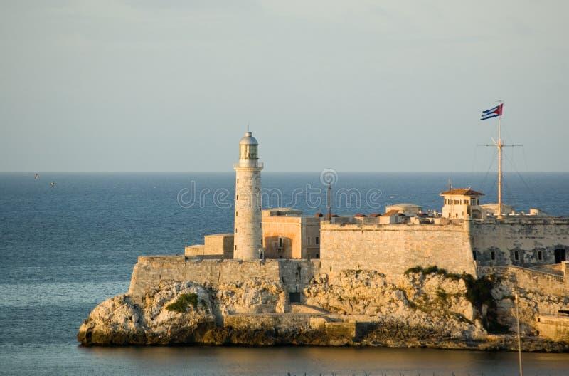 Castello di Morro, Avana, Cuba fotografie stock libere da diritti