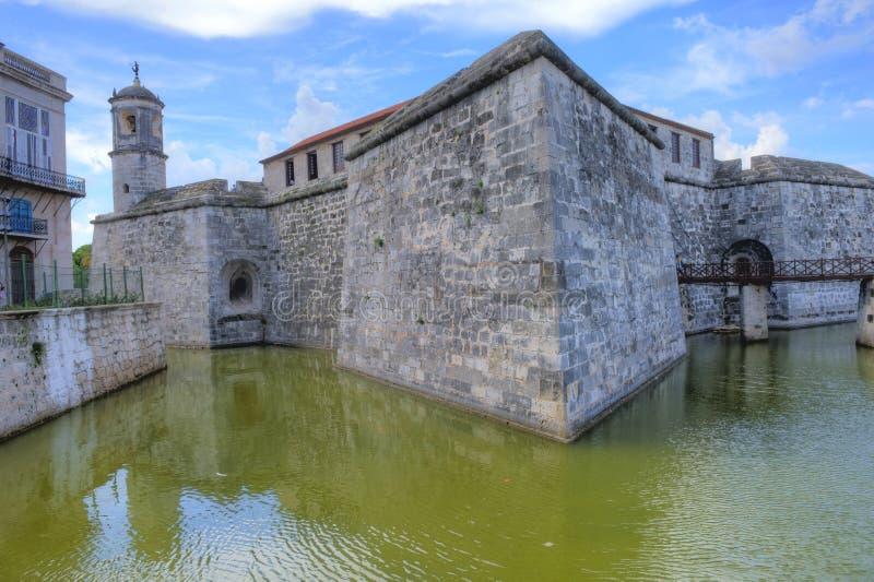 Castello di Morro a Avana, Cuba fotografia stock